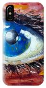 Art In The Eyes IPhone Case