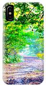 Art Rendered Country Pathway IPhone Case
