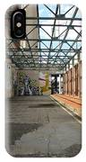 Art Space In Former Power Plant IPhone Case