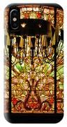 Artful Stained Glass Window Union Station Hotel Nashville IPhone Case
