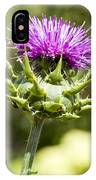 Artichoke Thistle 3 IPhone Case