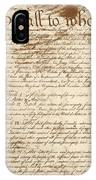 Articles Of Confederation IPhone Case