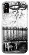 Artistic Day At Jackson Square Infrared IPhone Case