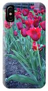 Artistic Line Of Roses IPhone Case