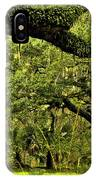Artistic Live Oaks IPhone Case
