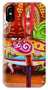 Artistically Textured Carousel IPhone Case