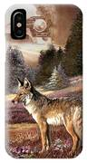 Encounter With The Iron Hors  IPhone Case