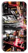 New York City Night II IPhone X Case