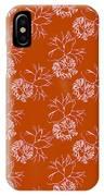 Orange Seaweed Marine Art Furcellaria Fastigiata IPhone Case