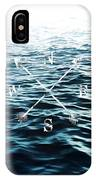 Winds Of The Sea IPhone X Case