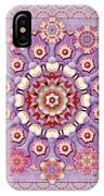Sweet Pea Iris Frivolity IPhone Case