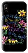 Let Us Dance Two IPhone Case