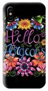 Hello Gorgeous Black  IPhone Case