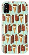 Ice Cream Novelties Pattern IPhone Case