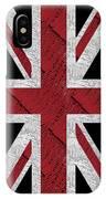 Union Jack Flag Deco Swing IPhone Case