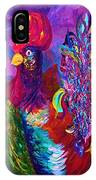 Rooster On The Horizon IPhone Case