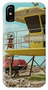 T7 Lifeguard Station Kapukaulua Beach Paia Maui Hawaii IPhone Case