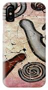 Healing Hands Fresco IPhone Case