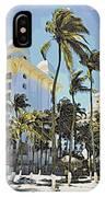 Aruba Palms Two IPhone Case
