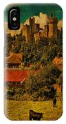 Arundel Castle With Cows IPhone Case