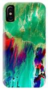 As The Colors Blend.. IPhone Case