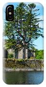 Ashford Castle And Cong River IPhone Case