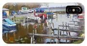 Ashville Bay Marina IPhone X Case