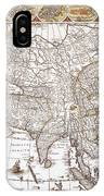 Asia: Map, C1618 IPhone Case