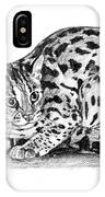Asian Leopard Cat IPhone Case