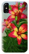 Asian Lilly Spring Time IPhone Case