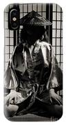 Asian Woman In Kimono IPhone Case