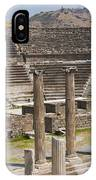 Asklepion Columns And Amphitheatre IPhone Case