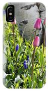 Aspen And Tulips IPhone Case