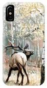 Aspen Elk IPhone Case