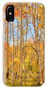 Aspen Fall Foliage Vertical Image IPhone Case