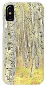 Aspen Forest 2 - Photo Painting IPhone Case