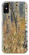 Aspen Forest, Mountain View County IPhone Case