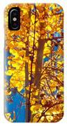 Aspen Glow Autumn Sky IPhone Case