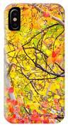 Aspen Gold And Orange IPhone Case