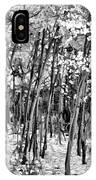 Aspen In Snow Black And White IPhone Case