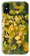 Aspen Leaves IPhone Case