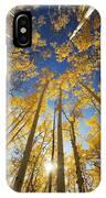 Aspen Tree Canopy 3 IPhone Case