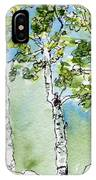 Aspen Trio IPhone Case