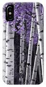 Aspen Trunks Lavender Leaves IPhone Case