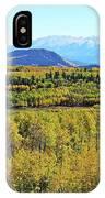 Aspen Valley IPhone Case