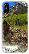 Aspens Around The Crystal Mill IPhone Case