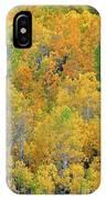 Aspens In Fall Eastern Sierras California IPhone Case