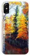 Aspens In Fall. IPhone Case