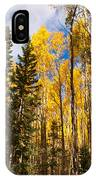 Aspens In Santa Fe 3 IPhone Case