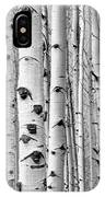 Aspens Near And Far IPhone Case